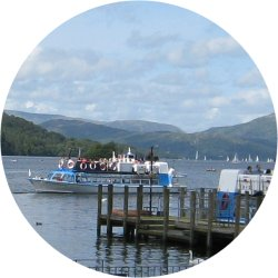 Lake Windermere, England's largest lake